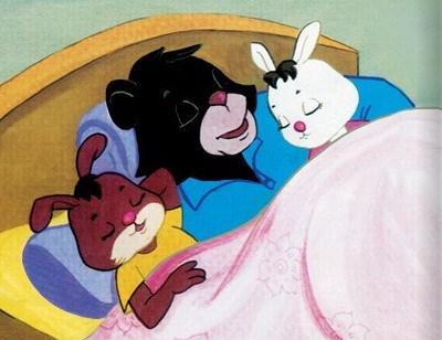 Truyện cho bé 5 tuổi số 6: Bác gấu đen và hai chú thỏ
