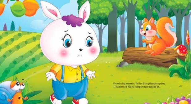 Truyện Thỏ Con Ăn Gì