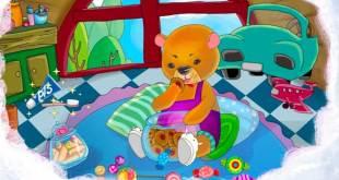 truyện gấu con bị sâu răng