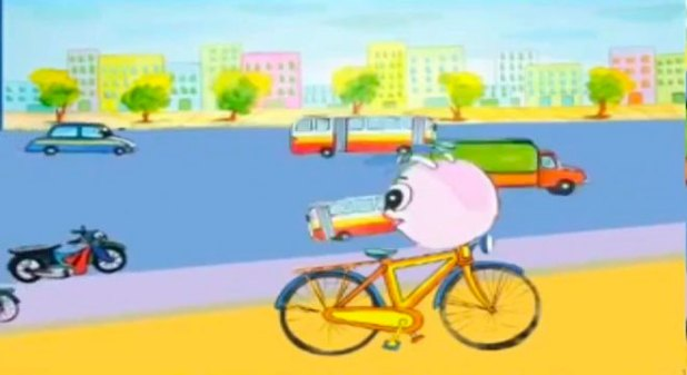 """Truyện """"Xe đạp con trên phố"""" - Thu Hạnh"""