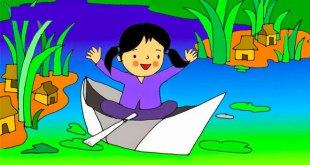 bài thơ thuyền giấy