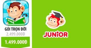 Monkey Junior Trọn Đời Giá Bao Nhiêu? Mua Monkey Junior Trọn Đời