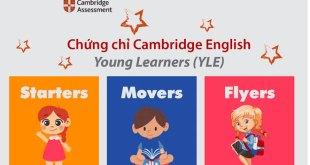 các chứng chỉ tiếng Anh cho trẻ em phổ biến nhất