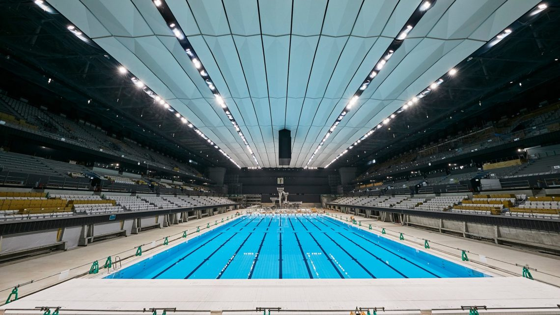 TOKYO 2020: LE PRIME IMMAGINI DELLA PISCINA OLIMPICA 1