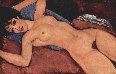 Amedeo Modigliani Nudo Rosso 19Amedeo Modigliani Nudo Rosso 1917 Collezione Mattioli Milano