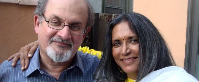 Salman Rushdire con la regista Deepa Mehta