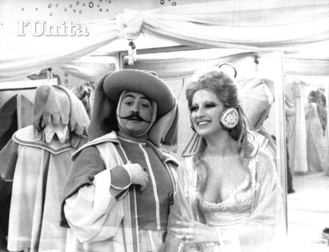 MIna in 'Per amore... per magia', anno 1967.