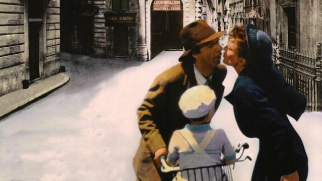 'La vita è bella', regia di Roberto Benigni, scenggiatura di Vincenzo Cerami. E andato in onda ieri sera su Rai Uno come omaggio a Cerami.