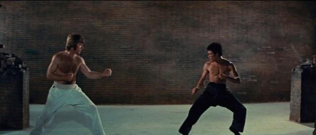 Bruce Lee e Chuck Norris si sfidano al Colosseo