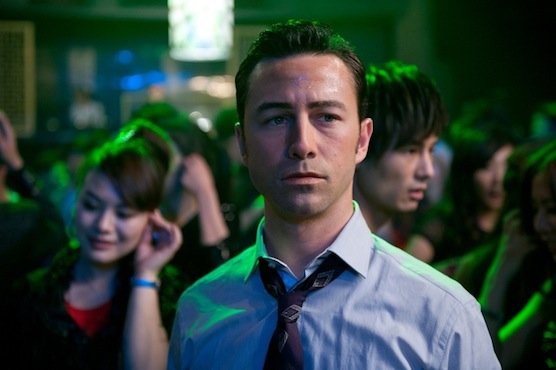"""Joseph Gordon-Levitt as """"Joe"""" in TriStar Pictures, Film District, and End Game Entertainment's action thriller LOOPER."""