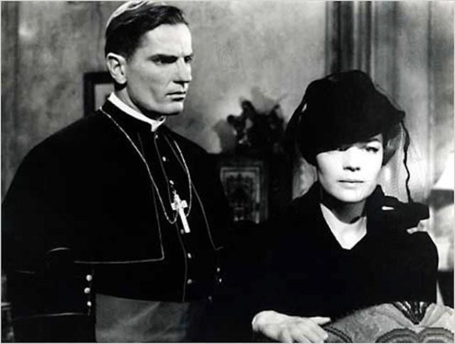 Tom Tryon e Romy Schneider in 'Il cardinale'