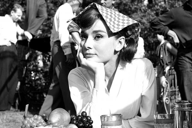 Audrey Hepburn in 'Arianna' di Billy Wilder