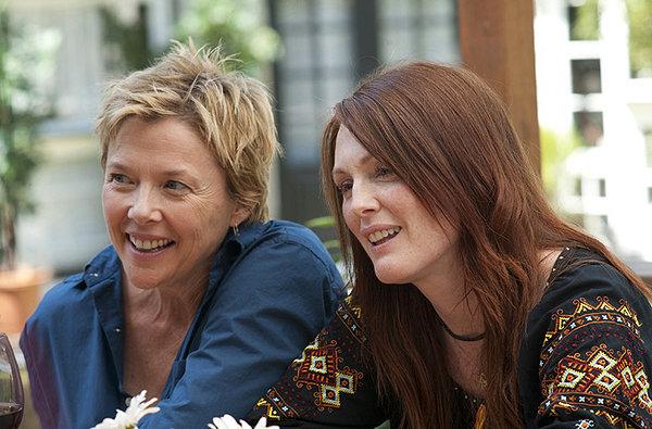 Annette Bening e Julianne Moore sono la coppia lesbica del film