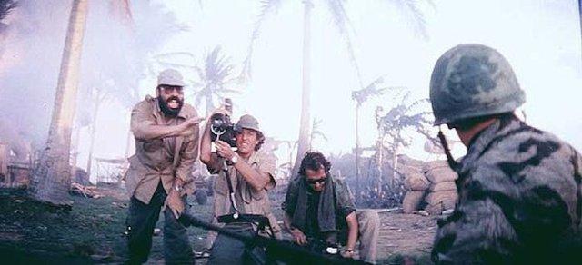 Coppola e Storaro sul set