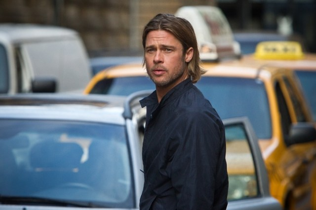 Brad Pitt in 'World War Z'