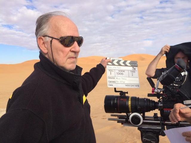 Herzog sul set in Marocco