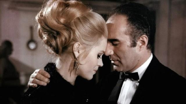 Jane Fonda e Michel PIccoli in 'La calda preda'