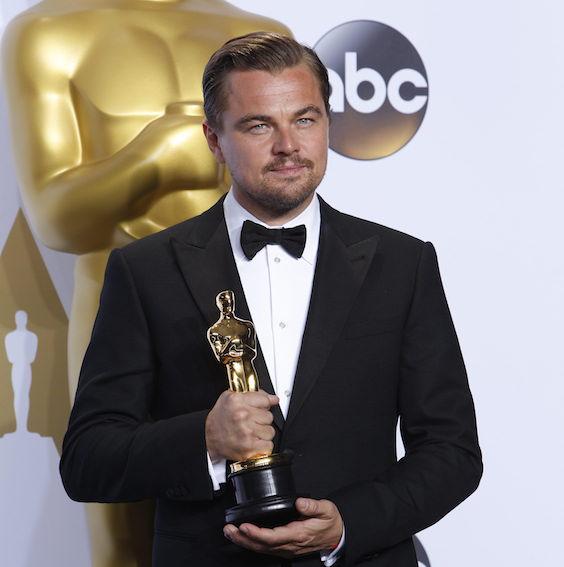 Leonardo DiCaprio (foto dal sito degli Oscar)