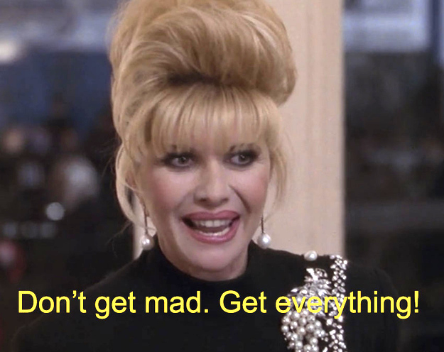 Ivana Trump, ex moglie di Donald, nel film.