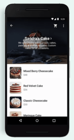 How to buy a product - service using the WhatsApp shopping button - Viewing the list of products and services (catalog) offered by the company