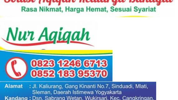 Paket Aqiqah Murah Yogyakarta