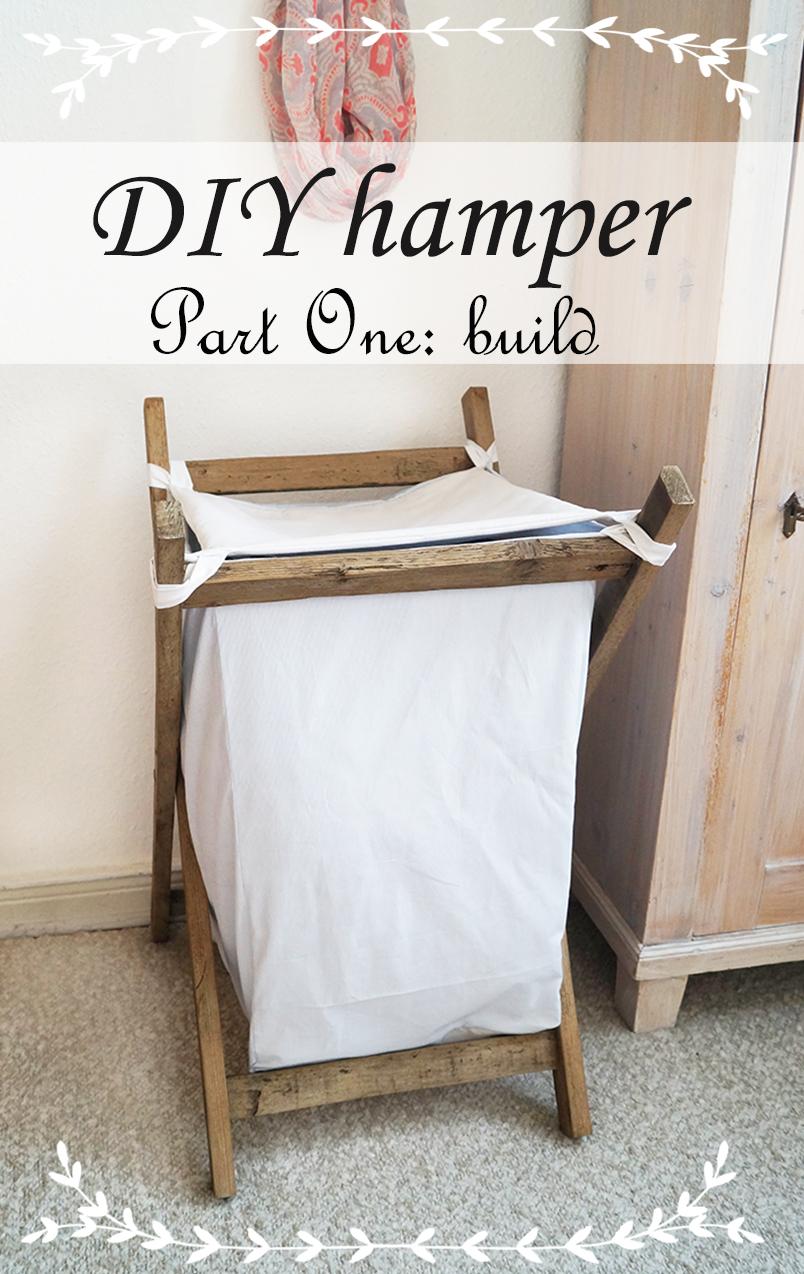 Wäschekorb Holz wäschekorb in eigenarbeit i nur noch