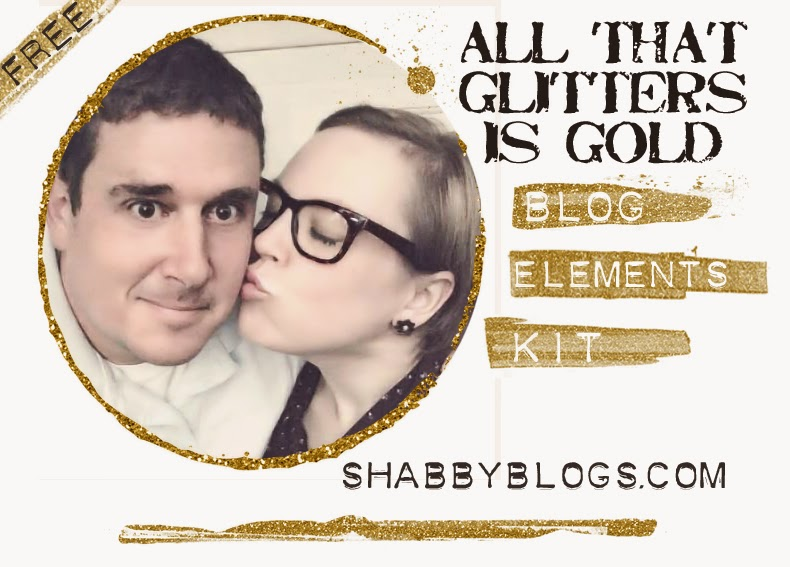 SB Free Blog Elements Gold Glitter Kit