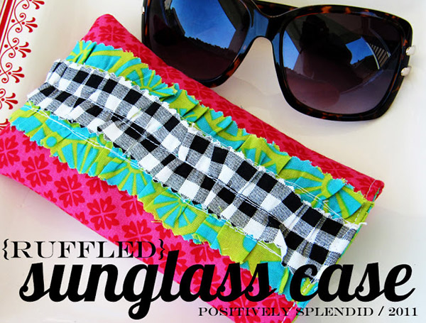 ruffled sunglass case 1-1