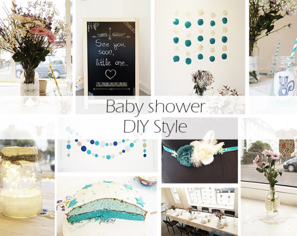 Baby shower DIY style