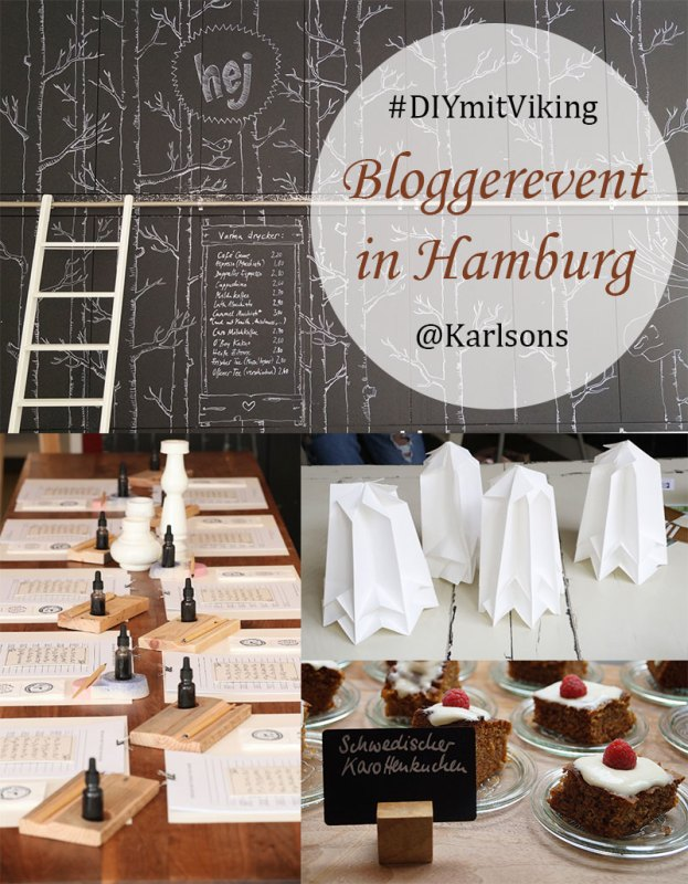 #DIYmitViking – Bloggerevent in Hamburg