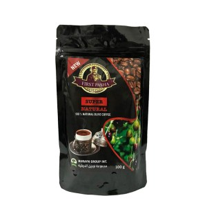 Natural olive coffee