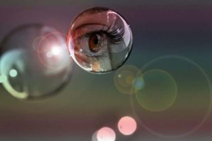 soap-bubble-eye