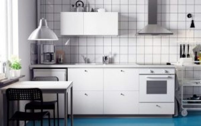 Kitchen set minimalis dapur kecil dan simple