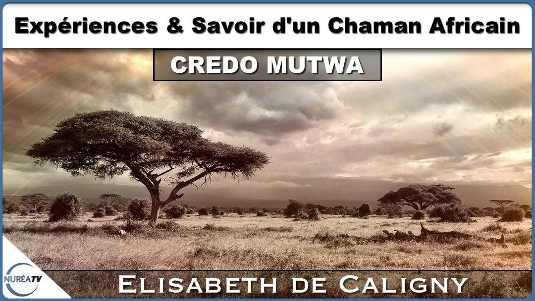 expériences et savoir d'un chaman africain avec Elisabeth de Caligny