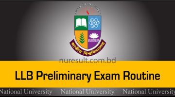 LLB Preliminary Exam Routine