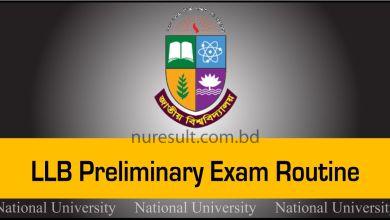 LLB Preliminary Exam Routine