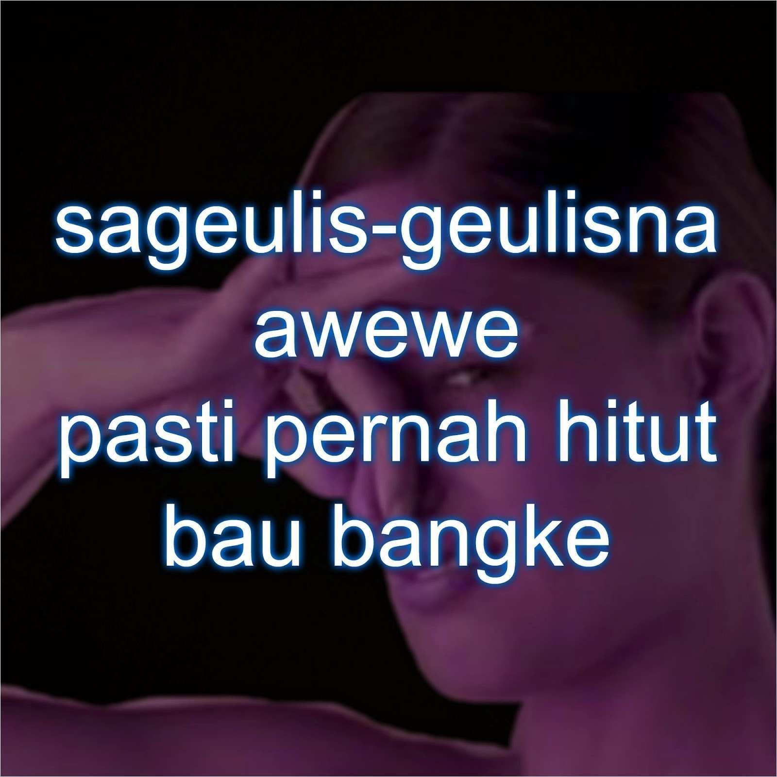 √ 135 Inspirasi Kata Kata Bahasa Sunda Lucu Sedih