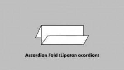 Accordion Fold (Lipatan acordion)