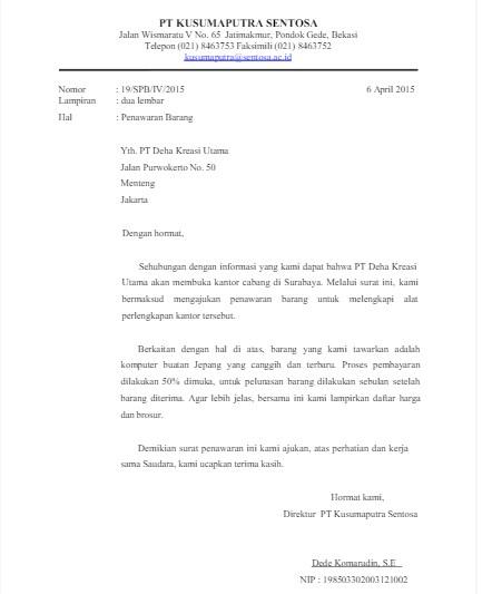 18+ Contoh surat resmi indonesia baru terbaru terbaik