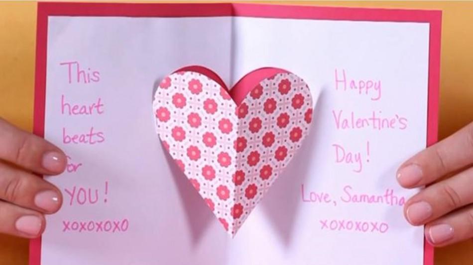 Contoh Gambar Greeting Card Valentine Day