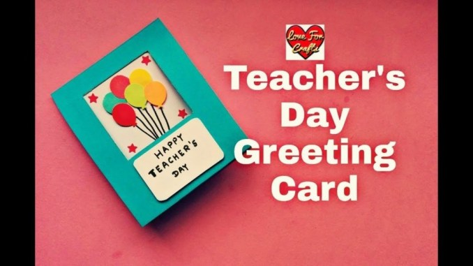 Contoh Greeting Card Teacher Day