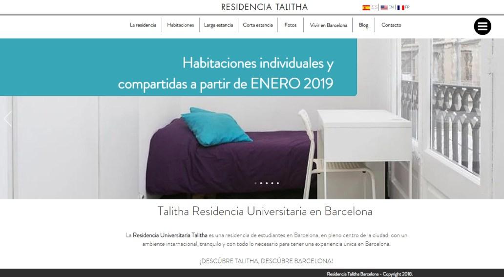 Residencia Talitha Barcelona