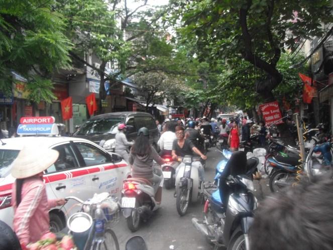 motos por Hanoi