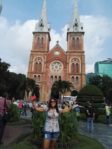 Catedral de Notre Damme de Saigón