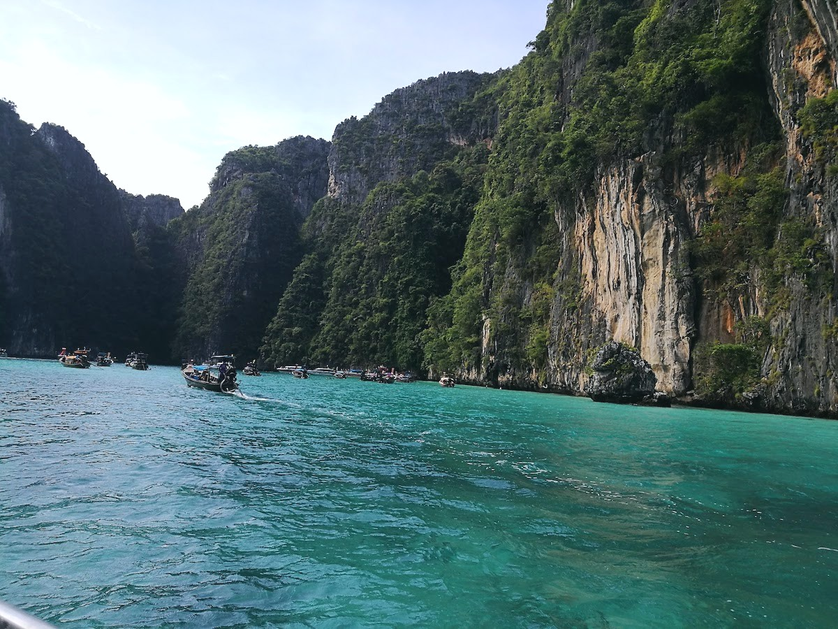 El mundo acuático de Tailandia
