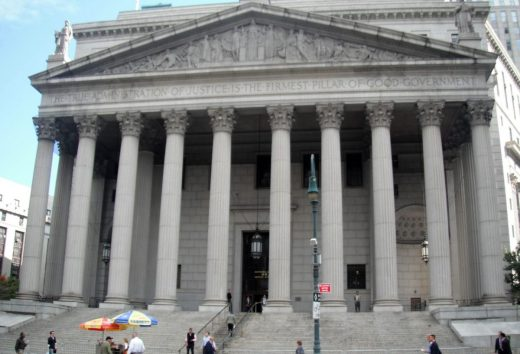 New York Court escenario Padrino