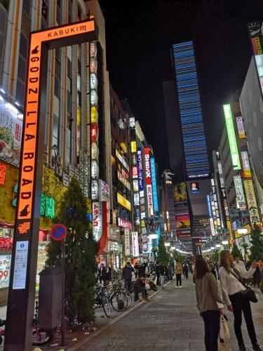 Godzilla street Kabukicho