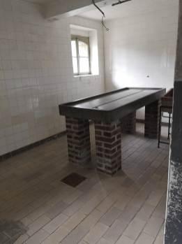 sala de autopsias Mauthausen