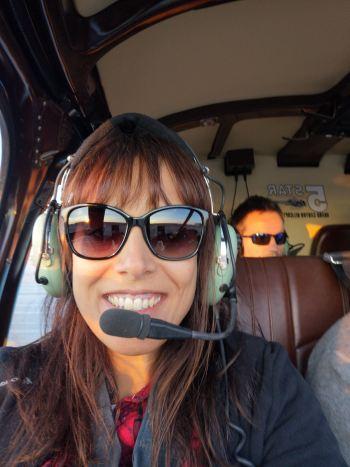 Sobrevolando Grand Cañón helicoptero