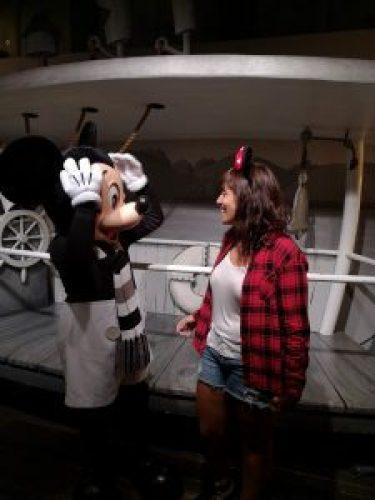 Visitando a Mickey en el Disneyland Park California